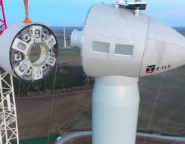 Construction éolienne